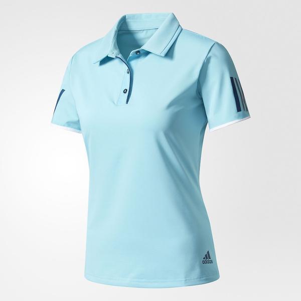 (セール)adidas(アディダス)テニス バドミントン レディース半袖シャツ 長袖シャツ 婦人向け CLUB ポロシャツ BVK52 BK0711 レディース サンバブルー S14/ミステリーブルー S17
