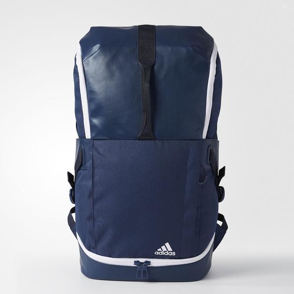 (送料無料)adidas(アディダス)テニス バドミントン ラケットバッグ ケース TENNIS BACKPACK DMK65 BR1324 NS ミステリーブルー S17