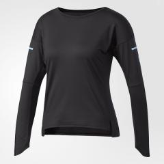 (セール)adidas(アディダス)テニス バドミントン レディース半袖シャツ 長袖シャツ WOMENS FEELINGKIT 長袖Tシャツ DKI69 BR5949 レディース ブラック