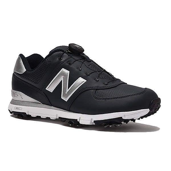 (セール)(送料無料)New Balance(ニューバランス)ゴルフ メンズゴルフシューズ MGB574NS D MGB574NS D メンズ NAVY/SILVER