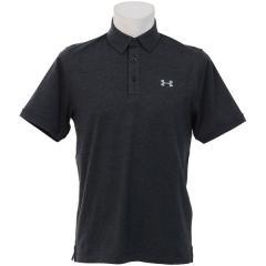 UNDER ARMOUR(アンダーアーマー)メンズスポーツウェア 半袖機能ポロシャツ 18S UA CHARGED COTTON SCRAMBLE POLO 1281003 010 メンズ BLK/BLK