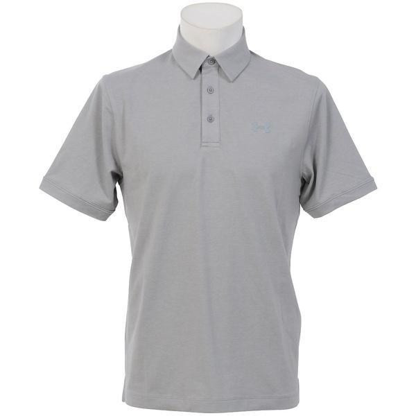 (セール)UNDER ARMOUR(アンダーアーマー)メンズスポーツウェア 半袖機能ポロシャツ 18S UA CHARGED COTTON SCRAMBLE POLO 1281003 36X メンズ TGH/STL