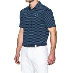 (セール)(送料無料)UNDER ARMOUR(アンダーアーマー)ゴルフ 半袖ポロ 半袖ハイネック UA PLAYOFF POLO 1253479 メンズ ACADEMY/ACADEMY/STEEL