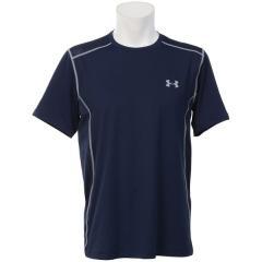 (セール)UNDER ARMOUR(アンダーアーマー)メンズスポーツウェア 半袖機能Tシャツ UA HIIT HG SS 1257466 メンズ MIDNIGHT NAVY/MIDNIGHT NAVY/STEEL
