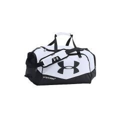 (送料無料)UNDER ARMOUR(アンダーアーマー)スポーツアクセサリー メンズバッグ UA UNDENIABLE SM DUFFEL II 1263969 メンズ ONESIZE WHITE/BLACK/SILVER