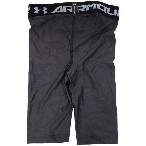 (セール)UNDER ARMOUR(アンダーアーマー)メンズスポーツウェア コンプレッションボトムス UA CHARGED COMPRESSION SHORT 1270618 メンズ GRAPHITE/STEALTH GRAY/BLACK