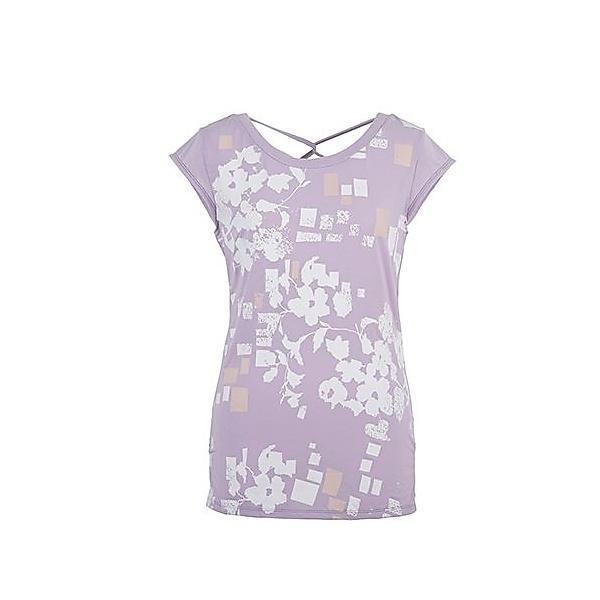 (セール)DANSKIN(ダンスキン)ヨガ Tシャツ YOGA フレンチ DY57101 レディース LC