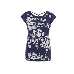 (セール)DANSKIN(ダンスキン)ヨガ Tシャツ YOGA フレンチ DY57101 レディース LZ