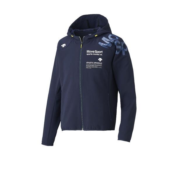 (セール)(送料無料)DESCENTE(デサント)メンズスポーツウェア ウインドアップジャケット サンスクリーン ACTIVE SUITS フーデッドジャケット DAT-1725 ENV メンズ ENV