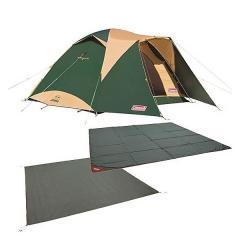 (送料無料)COLEMAN(コールマン)キャンプ用品 ファミリーテント タフワイドドームIV/300 スタートパッケージ 2000031859