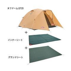 (送料無料)COLEMAN(コールマン)キャンプ用品 ファミリーテント タフドーム/2725スタートパッケージ 2000031570