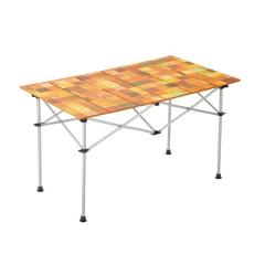 (送料無料)COLEMAN(コールマン)キャンプ用品 ファミリーテーブル ナチュラルモザイクロールテーブル120 2000031293
