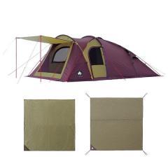 (送料無料)LOGOS(ロゴス)キャンプ用品 ファミリーテント PRE BASE DOME XL SET 71809549