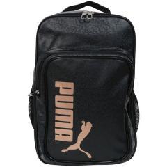 (セール)(送料無料)PUMA(プーマ)スポーツアクセサリー バッグパック エナメル マット バックパック 7466601 ブラック