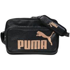 (送料無料)PUMA(プーマ)スポーツアクセサリー エナメルバッグ エナメル マット ショルダー L 7466801 ブラック