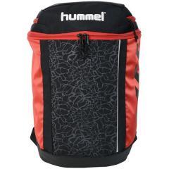 (送料無料)hummel(ヒュンメル)サッカー 3層デイバック ボールバック プリアモーレバッグ(中学年用) HFB8032_90 ジュニア ブラック