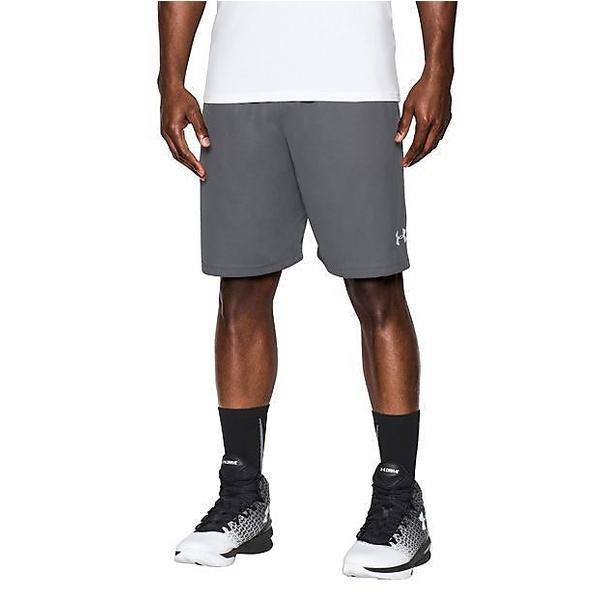 (セール)UNDER ARMOUR(アンダーアーマー)バスケットボール メンズ プラクティスショーツ UA SELECT 9IN SHORT 1290651 メンズ GRAPHITE/WHITE/WHITE