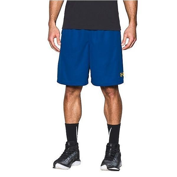 (セール)UNDER ARMOUR(アンダーアーマー)バスケットボール メンズ プラクティスショーツ UA SELECT 9IN SHORT 1290651 メンズ ROYAL/ROYAL/WHITE
