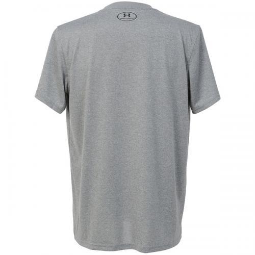 (セール)UNDER ARMOUR(アンダーアーマー)バスケットボール メンズ 半袖Tシャツ UA TECH BB ICON T 1295512 メンズ TRUE GRAY HEATHER/BLACK/BLACK