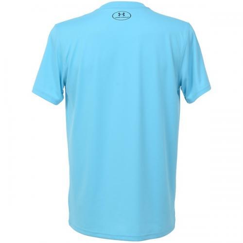 (セール)UNDER ARMOUR(アンダーアーマー)バスケットボール メンズ 半袖Tシャツ UA TECH BB ICON T 1295512 メンズ ISLAND BLUES/MIDNIGHT NAVY/MIDNIGHT NAVY