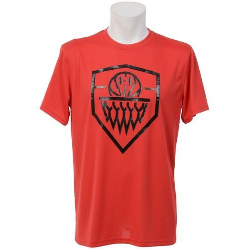 (セール)UNDER ARMOUR(アンダーアーマー)バスケットボール メンズ 半袖Tシャツ UA TECH BB ICON T 1295512 メンズ RED/BLACK/BLACK