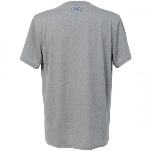 (セール)UNDER ARMOUR(アンダーアーマー)バスケットボール メンズ 半袖Tシャツ UA TECH PROVE IT OC T 1295514 メンズ TRUE GRAY HEATHER/ROYAL/ROYAL