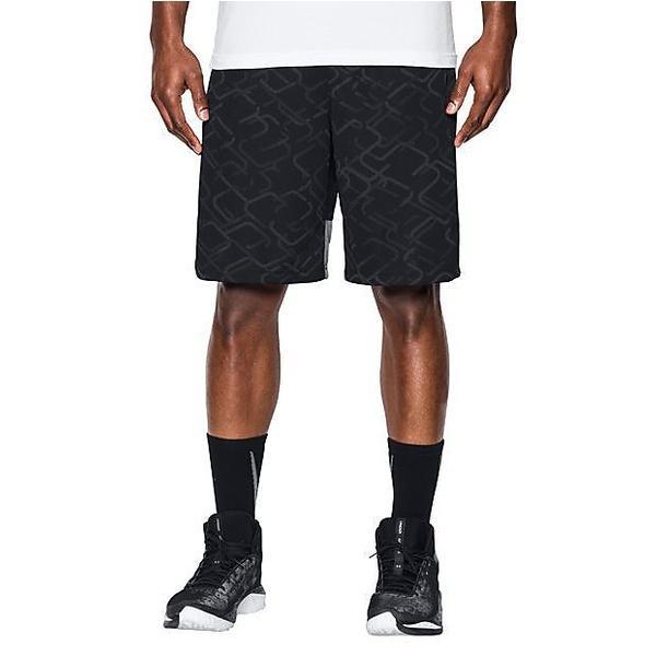(セール)UNDER ARMOUR(アンダーアーマー)バスケットボール メンズ プラクティスショーツ UA CROSS COURT 10IN SHORT 1294479 メンズ BLACK/GRAPHITE/GRAPHITE