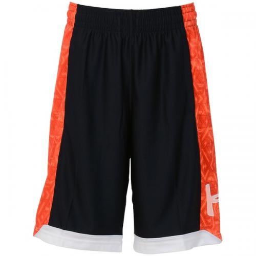 (セール)UNDER ARMOUR(アンダーアーマー)バスケットボール メンズ プラクティスショーツ UA アイソレーション 11インチショーツ MBK4134 メンズ BLK/PXF/WHT