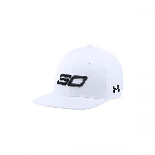 (セール)UNDER ARMOUR(アンダーアーマー)バスケットボール アクセサリー UA SC30 CORE CAP 1286973 メンズ ONESIZE WHITE/WHITE/BLACK