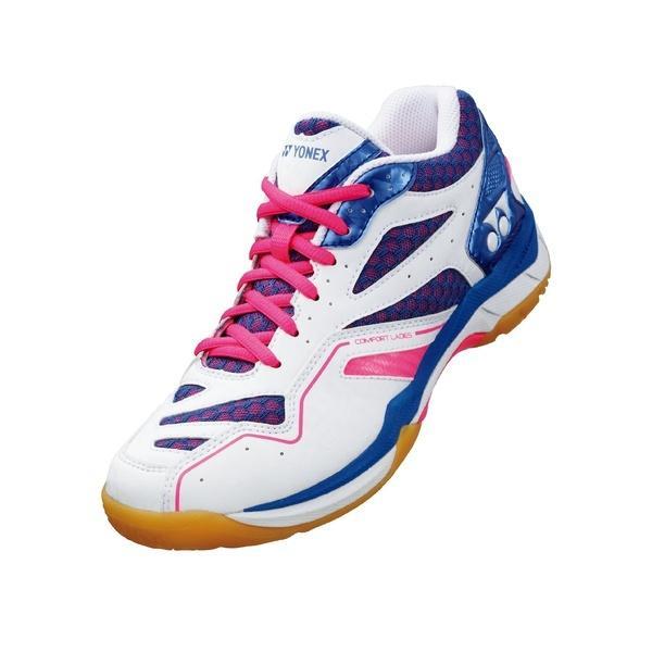 (セール)(送料無料)YONEX(ヨネックス)テニス バドミントン バドミントンシューズ パワークッションコンフォートレディース SHBCFL 172 レディース P/B