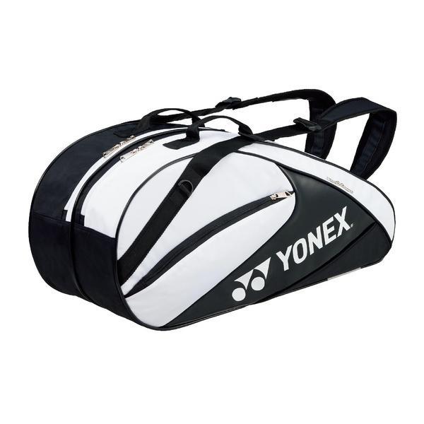(送料無料)YONEX(ヨネックス)テニス バドミントン ラケットバッグ ケース ラケットバッグ6(リュックツキ) BAG1732R_141 W/BK