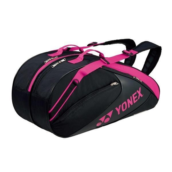 (送料無料)YONEX(ヨネックス)テニス バドミントン ラケットバッグ ケース ラケットバッグ6(リュックツキ) BAG1732R_181 BK/P