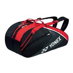 (送料無料)YONEX(ヨネックス)テニス バドミントン ラケットバッグ ケース ラケットバッグ6(リュックツキ) BAG1732R_187 BK/R