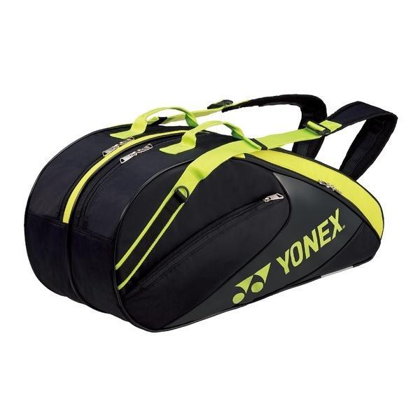 (送料無料)YONEX(ヨネックス)テニス バドミントン ラケットバッグ ケース ラケットバッグ6(リュックツキ) BAG1732R_723 BK/LG