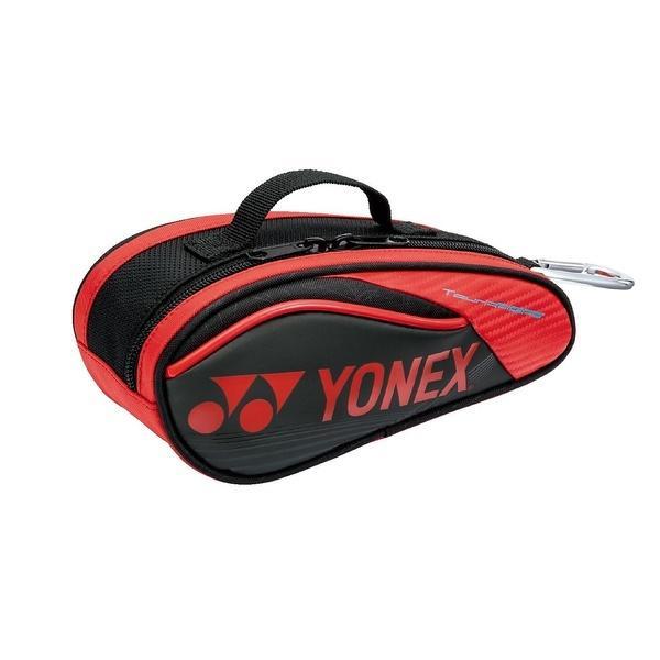 (セール)YONEX(ヨネックス)テニス バドミントン ラケットバッグ ケース ミニチュアラケットバッグ BAG16MN 187 BK/R