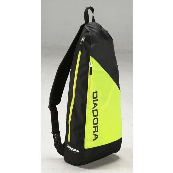(セール)DIADRA(ディアドラ)ラケットスポーツ バッグ ケース類 ラケットショルダー DTB7637-1599 F イエローFLxブラック
