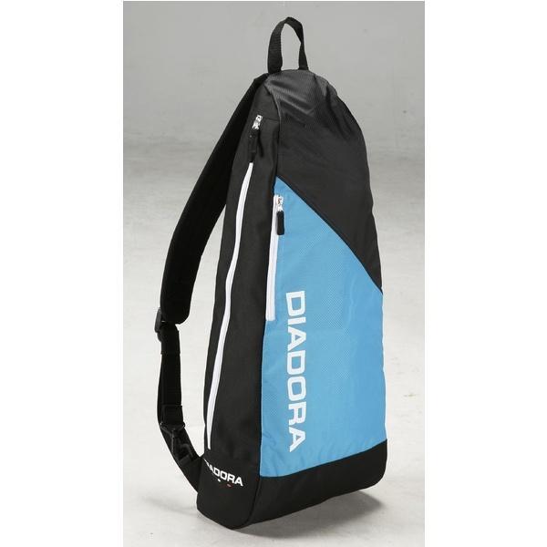 (セール)DIADRA(ディアドラ)ラケットスポーツ バッグ ケース類 ラケットショルダー DTB7637-6099 F ブルーFLxブラック