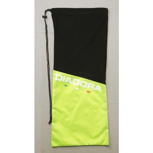 (セール)DIADRA(ディアドラ)ラケットスポーツ バッグ ケース類 ラケットケース DTB7638-1599 F イエローFLxブラック