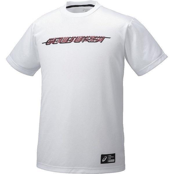 (セール)ASICS(アシックス)バスケットボール メンズ 半袖Tシャツ プリントTシヤツHS XB6603.01A メンズ ホワイトA