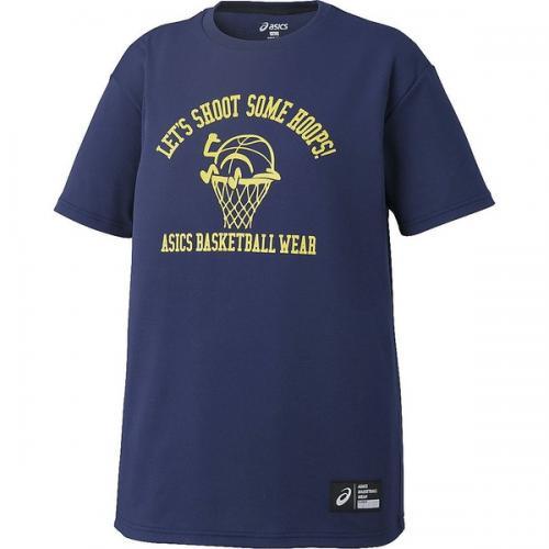 (セール)ASICS(アシックス)バスケットボール レディース 半袖Tシャツ W'SプリントTシヤツHS XB6611.49A レディース インデイゴA