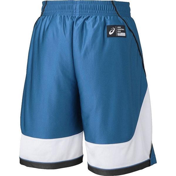 (セール)ASICS(アシックス)バスケットボール メンズ プラクティスショーツ プラパン XB7607.47 サンダーブルー