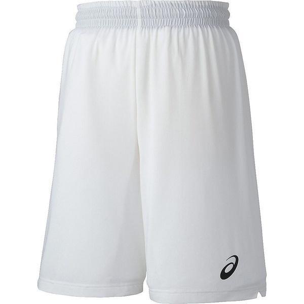 (セール)ASICS(アシックス)バスケットボール メンズ プラクティスショーツ カラープラパン XB7608.01 ホワイト
