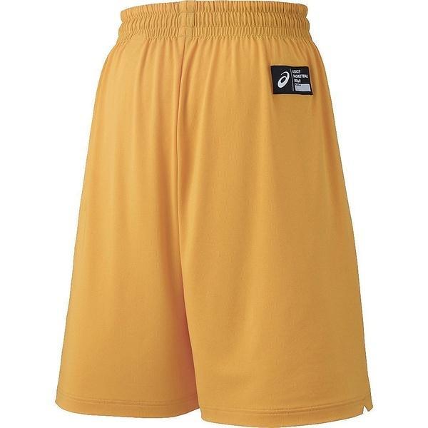 (セール)ASICS(アシックス)バスケットボール レディース プラクティスショーツ W'Sカラープラパン XB7611.07 レディース ゴールド