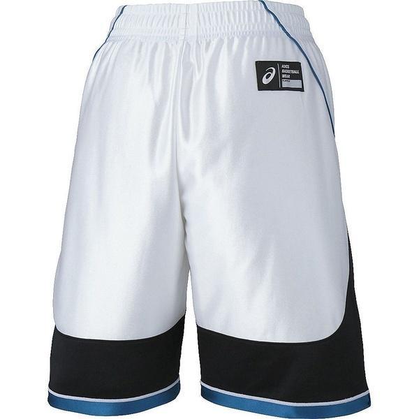 (セール)ASICS(アシックス)バスケットボール ジュニア プラクティスショーツ JR.プラパン XB7612.0190 ジュニア ホワイトXBK