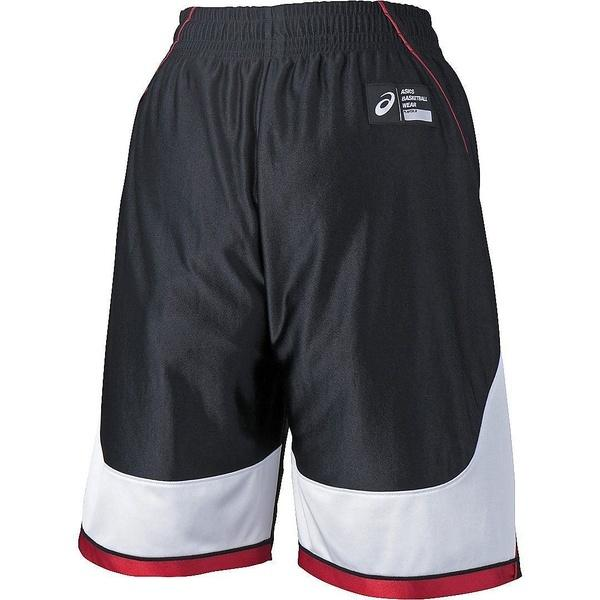 (セール)ASICS(アシックス)バスケットボール ジュニア プラクティスショーツ JR.プラパン XB7612.9001 ジュニア ブラツクXホワイト