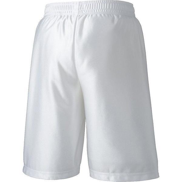 (セール)ASICS(アシックス)バスケットボール メンズ プラクティスショーツ プラパン XB7615.01 ジュニア ホワイト