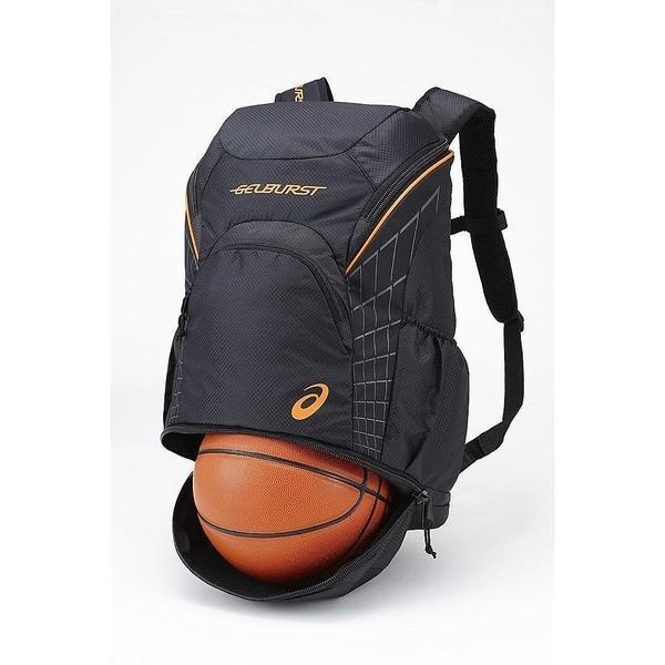 (送料無料)ASICS(アシックス)バスケットボール バッグ BURST BACKPACK EBA641.9090 F ブラツク/BLK