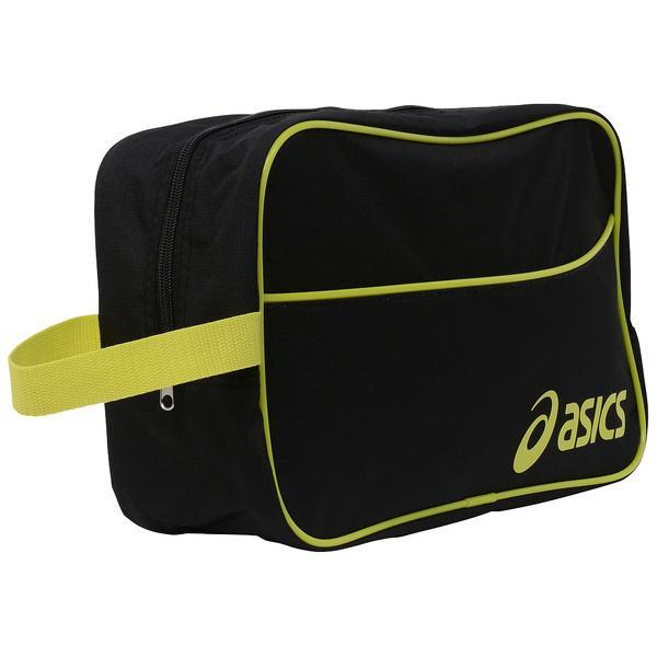 ASICS(アシックス)バスケットボール シューズアクセサリー SHOEBAG L EB058A.9074 F ブラツク/ライム