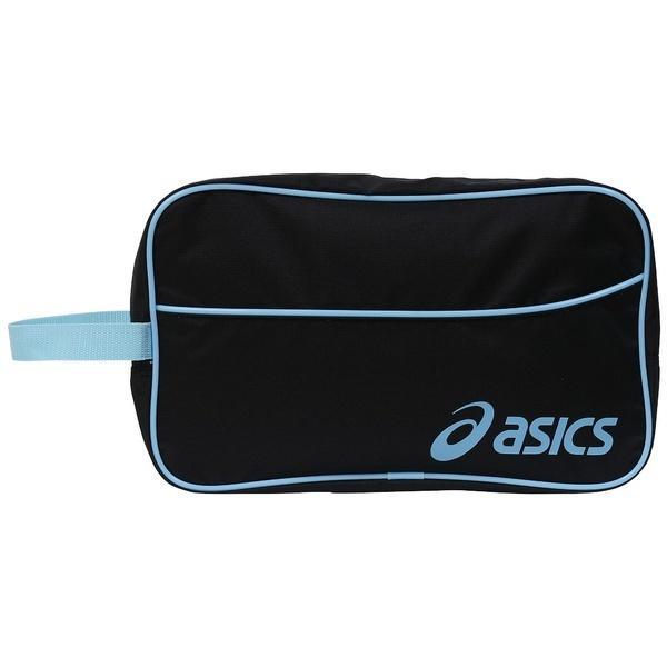 ASICS(アシックス)バスケットボール シューズアクセサリー SHOEBAG L EB058A.9041 F BLK/Sブルー