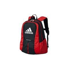 adidas(アディダス)サッカー 3層デイバック ボールバック ボール用デイパック ADP24BKR ジュニア 30x42x20CM ブラックxレッド